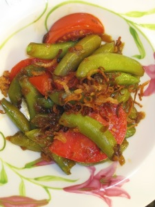 Sugar Snap Peas with Kejap Manis