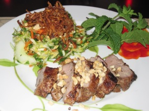Lemongrass Pork & Green Papaya Salad