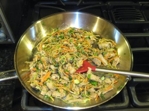 Moo Shu in the Pan
