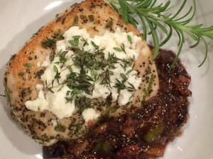 Chicken with Feta & Figs