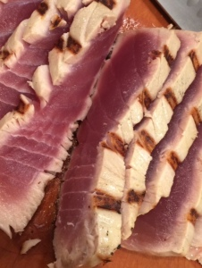 close up tuna